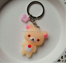 Sunrise/factory/ hottest toy/ silicone key chain