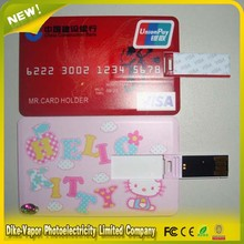 Full Color Printing USB Flash Drive Business Card Pen Drive Credit Card USB