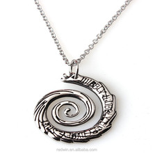 Inspired by Doctor Who Wibbly Wobbly Timey Wimey Stuff Pendant Necklace STAINLESS STEEL 316L