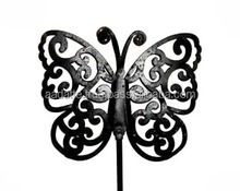 Christmas decoration gift item beautiful metal butterfly