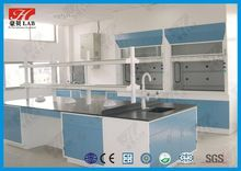 All steel epoxy resin lab bench top with strong resistant to acid/alkali