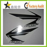 Golden supplier UV waterproof vinyl motorcycle fuel tank stickers , dirt bike fuel tank stickers