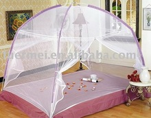folded net bed canopy