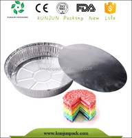 Bakery use aluminum foil cake containers