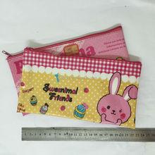 Transparent pvc zippered pencil pouches /PVC pencil bag