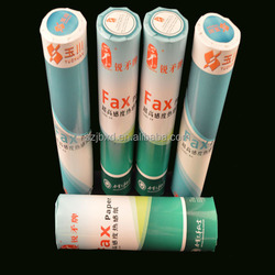 white thermal fax paper roll