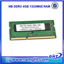 Venta Al Por Menor de Chips de ETT memoria ram ddr3 4gb Módulo de memoria contorno pequeño dual en línea ( SODIMM )