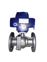 Made in China silver color Two piece ball valve flange king industrial company