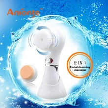 Deep into pores to efficiency remove dirt,oil electric facial massager with Washable