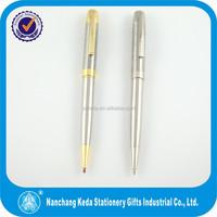 Factory direct sale metal ballpoint pen advertising slogan pen high grade pen