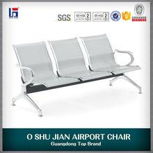 Oshujian NEW Arrival Quality Comfortable Price Steel Waiting Chair Airport Sofa SJ820