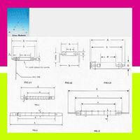 e=30mm h=45mm d=4mm A=49mm Xenon Flash Tube Linear Type For Studio Photo Flash Light