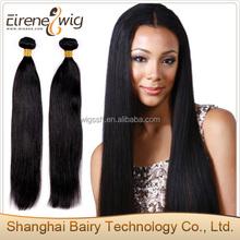 Fashion Models cheap malaysian hair virgin straight hair in shanghai with free packaging