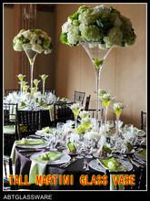 decoration glass martini vase,cheap glass vase wholesale