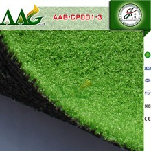 Natural looking UV test landscaping artificial turf for garden