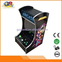 cocktail coin game machine mini 60 in 1 cocktail table arcade game machine