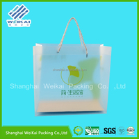 crazy price for clear plastic bag, PP bag packing, beautiful hand bag