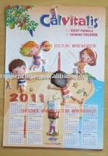 3d calendar poster series with good printing service
