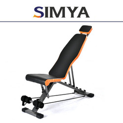 BODY SPORT FITNESS EQUIPMENT ABS WORKOUT BENCH AB CHAIR EXERCISE