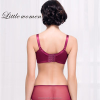 Elengant feature good quality Factory direct sale transparent panties and bra