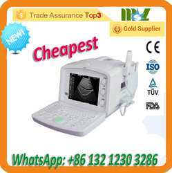 New Hot Selling Cheapest Portable Ultrasound Machine Powerful Performance China Supplier (MSLPU04-R)