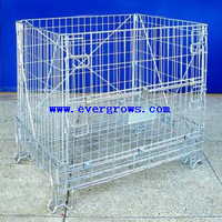 Guangzhou large size steel mesh cage with various layers and colour