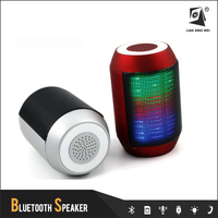 BT600 New Controllable colorful lights mini music player, mini bluetooth speaker think box