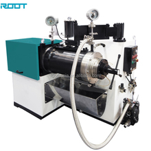 Disk type horizontal pearl mill for paint,ink,dye,pigment etc