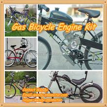 motorized petrol gasoline motor bike gas kit/kick starting motorized bicycle kit