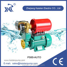 Automatic high pressure low noise booster pump