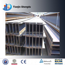 Q235B/ SS400/ A36 Hot rolled structural construction steel H beam