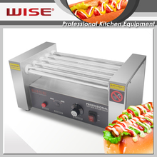 Hot Selling Stainless Steel 5 Rolls French Hot Dog Machine For Commercial Use