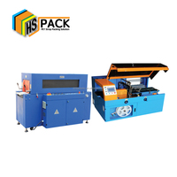 Automatic Sleeve Shrink Wrapping machine pof film shrink packing SL-E400+ST-500