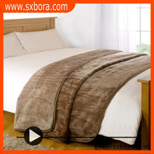Hot selling excellent quality mink blanket made in China