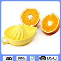 2015 New Design Kitchen Tool Type Manual Silicone Lemon Squeezer/ Mini Silicone Lemon