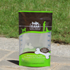 bpa free custom printed stand up dry dog food pouches / pet snacks packaging bagswith zipper