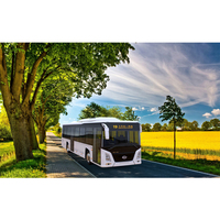 New electric vehicles: passenger bus ; main market : Europe, north and south America, Korea; utility car