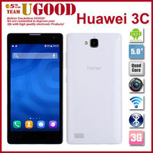 "3G 5.0"" HUAWEI Honor 3C MTK6582 quad core 1.3 GHz Dual SIM Card Dual Standby Mobile Phone"