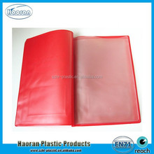 Plastic PVC Document File Holder for Cars Documents