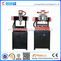 Marble / Jade/Stone mini carving machine ,SH-3636cnc router engraving by knife