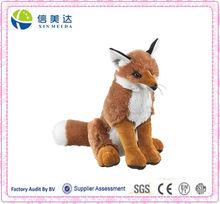 Large Fox Plush Red Fox Stuffed Animal