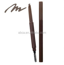New design eyebrow cosmetic pencil with brush