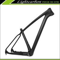 2015 LIGHTCARBON 29er Toray carbon T1000 mountain bikes frames super light weight mtb frame only 965g size 17.5'' YS-FM429