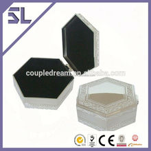 2015 newest luxury swarovski jewelry box jewelry boxes wedding decoration metal jewelry box