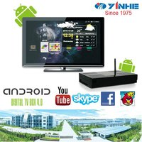 2012 HD 1080P Android 4.0 live streaming smart tv android box
