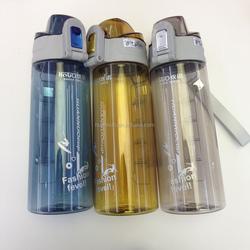 2015 new product 500ml 600ml 750ml sport bottle ,BPA free ,plastic filter