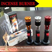 C-10 Mental potpourri burner Click N Vape vaporizer Aluminum pipe for sandalwood india incense stick
