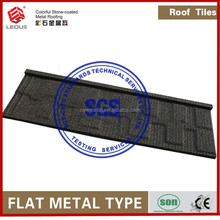 Rain Forest Decorations Natural Stone Coated Steel Metal Roofing Single Prices
