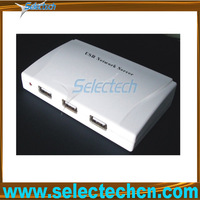 4 port USB2.0 10/100M print usb network document server SE-204U