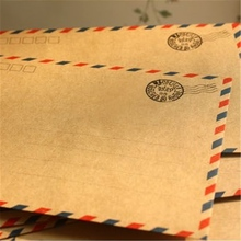 custom-made very welcome paper envelope document